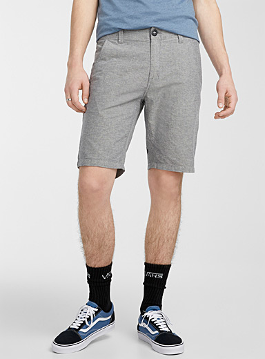 Heathered chino Bermudas
