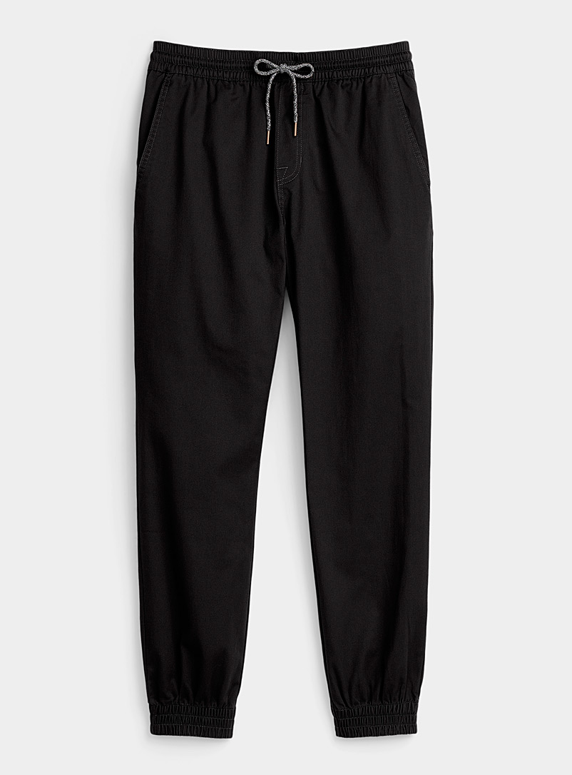 Recycled polyester black Frickin joggers