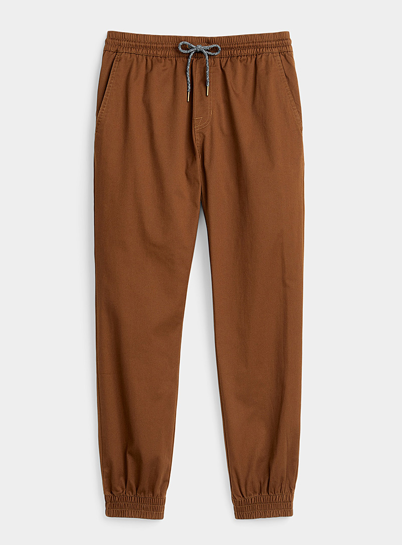 Recycled polyester brown Frickin joggers