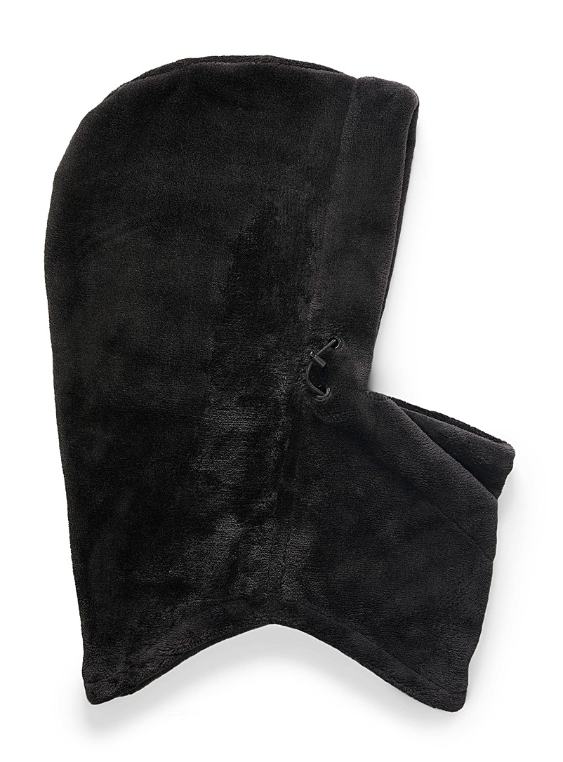 Volcom Black Plush balaclava for women