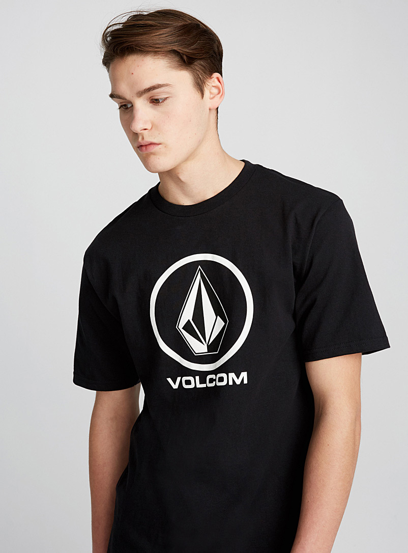 Crisp Stone T-shirt - Logo wear - Black