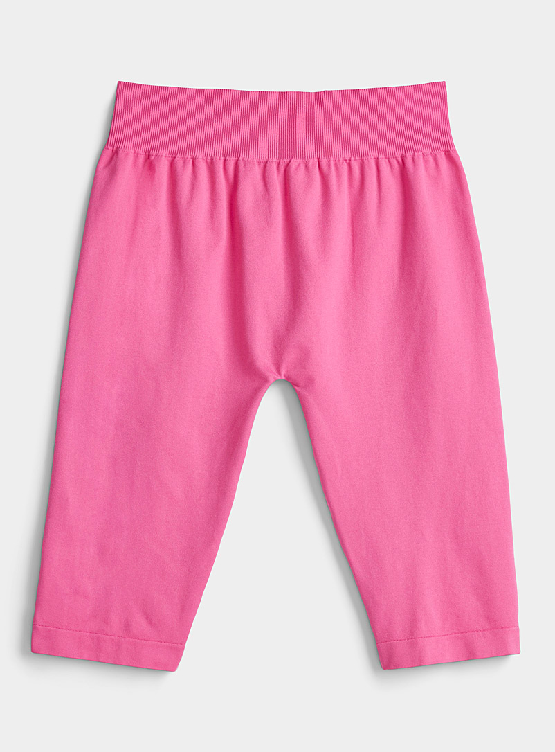 Emilio Cavallini Medium Pink Cyclist cropped legging for women