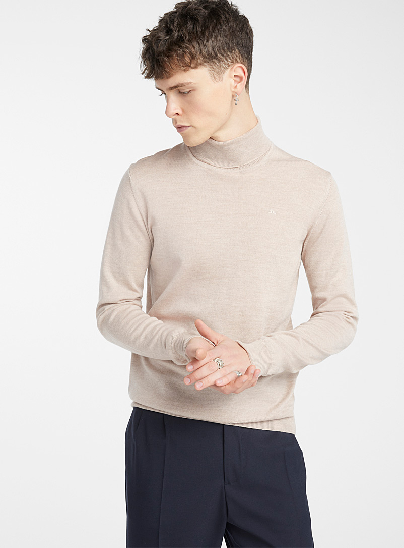 J. Lindeberg: Le pull Lyd Marine pour homme