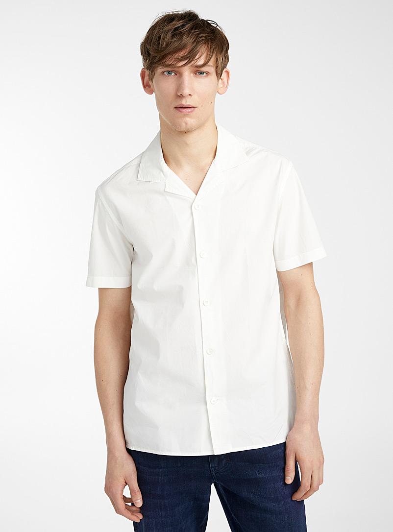 J. Lindeberg White David Resort shirt for men
