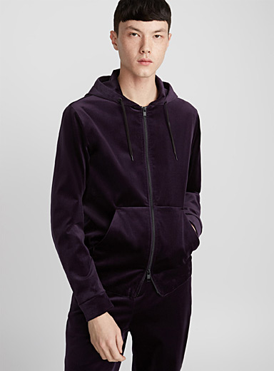 Noel zipped sweatshirt