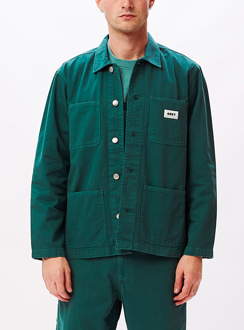 Organic cotton workwear overshirt
