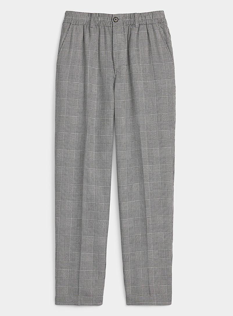 Prince of Wales relaxed pant