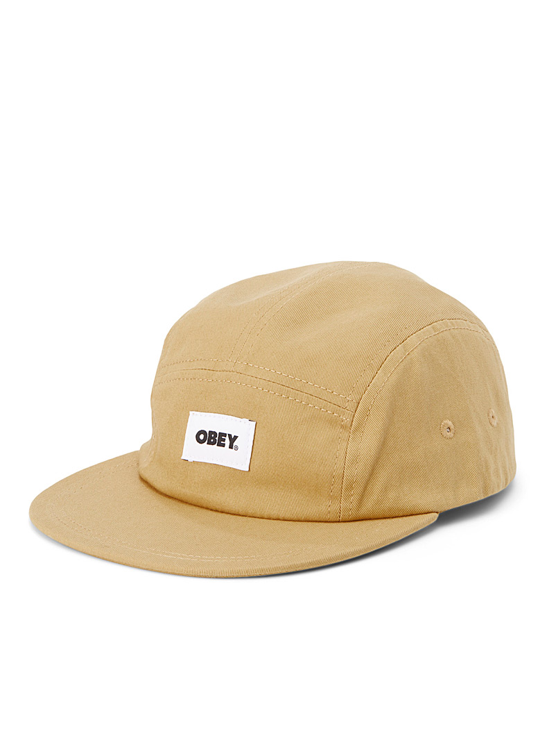 Obey Fawn Organic cotton logo cap for men
