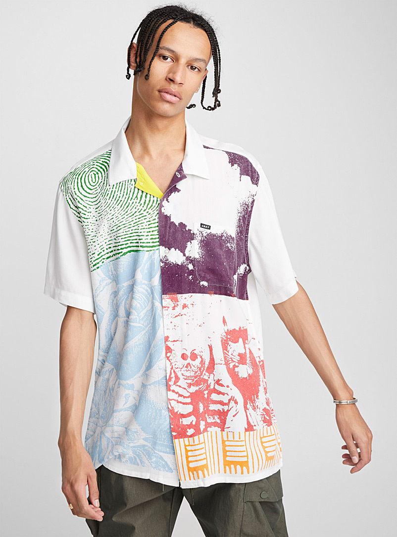 Eclectic camp shirt - Short sleeves