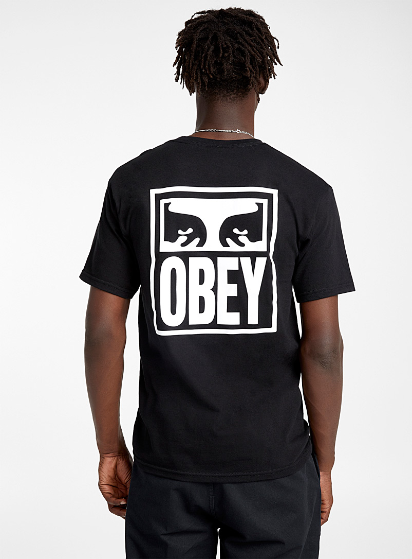 Obey White The Creeper vision T-shirt for men