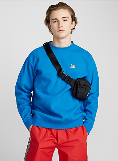 Le sweat ouatiné à logo