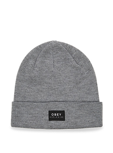Patch monochrome tuque