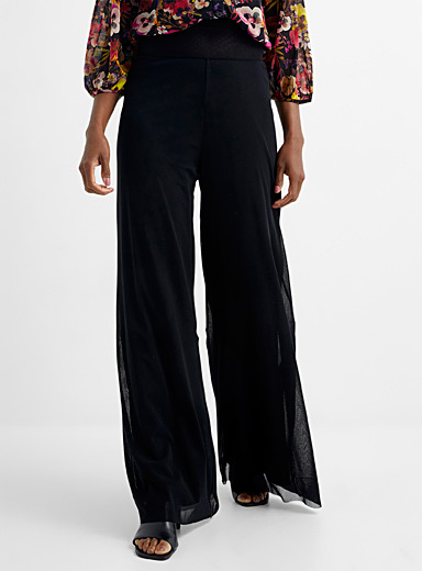 Tulle palazzo pant