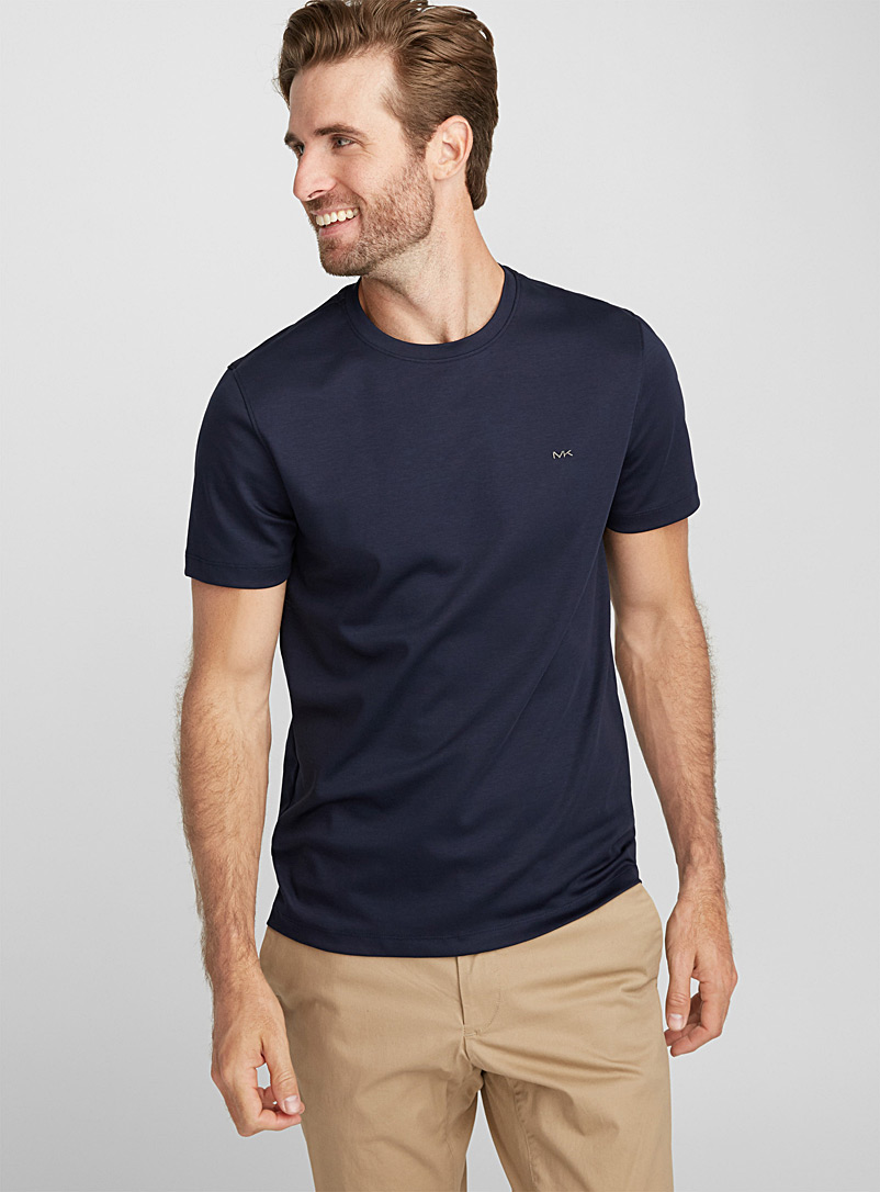 MK T-shirt - Short sleeves & 3/4 sleeves - Dark Blue