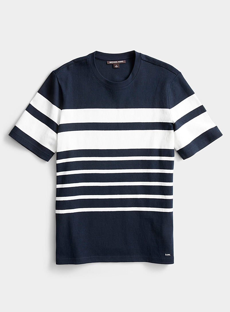 Michael Kors Dark Blue Sailor T-shirt for men
