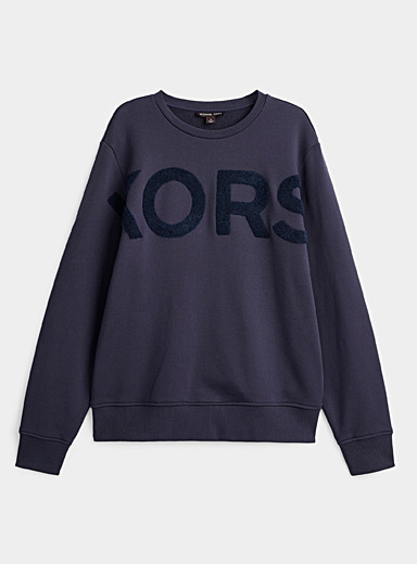 Terry logo sweatshirt