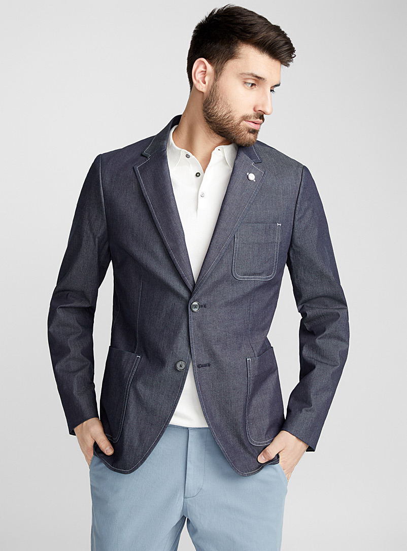 le-veston-denim-suprique-br-coupe-semi-ajustee