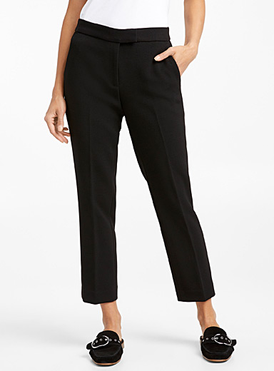 Cropped cigarette pant