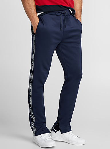 Logo band athletic joggers