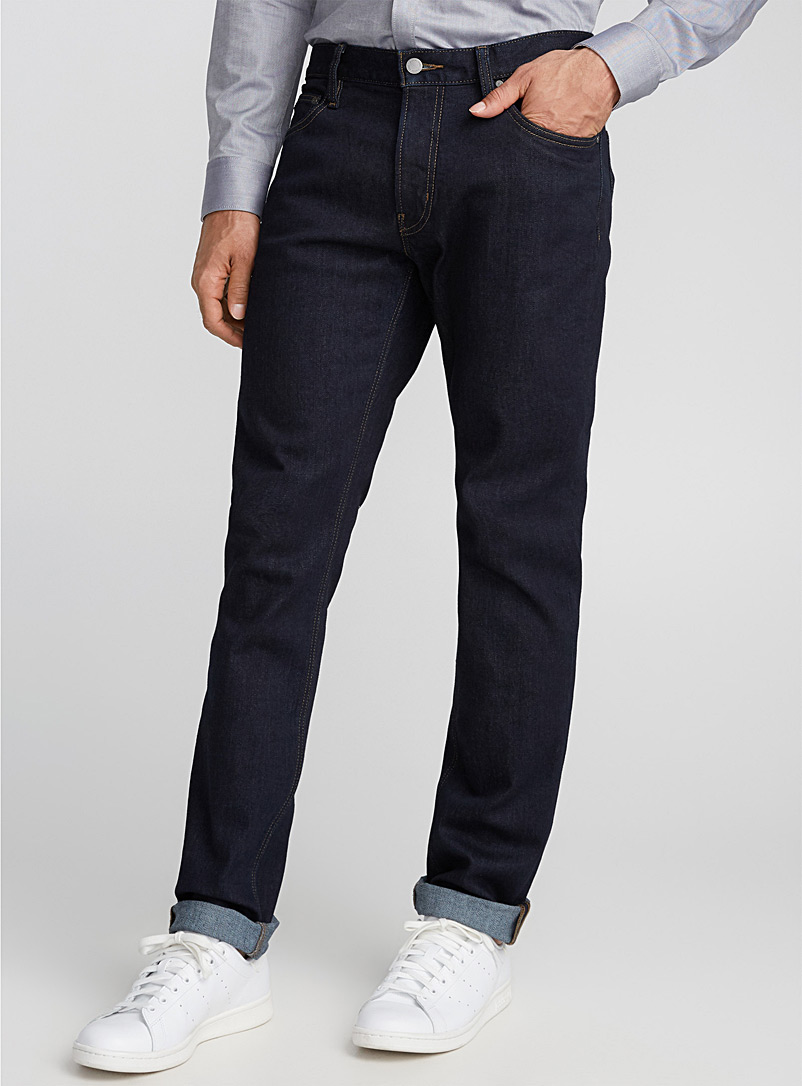 Michael Kors Marine Blue Parker clean indigo jean  Slim fit for men