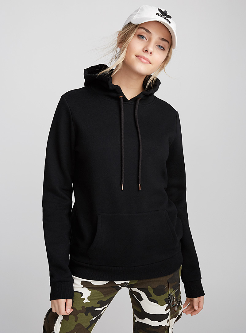 Solid essential hoodie - Sweatshirts & hoodies - Black