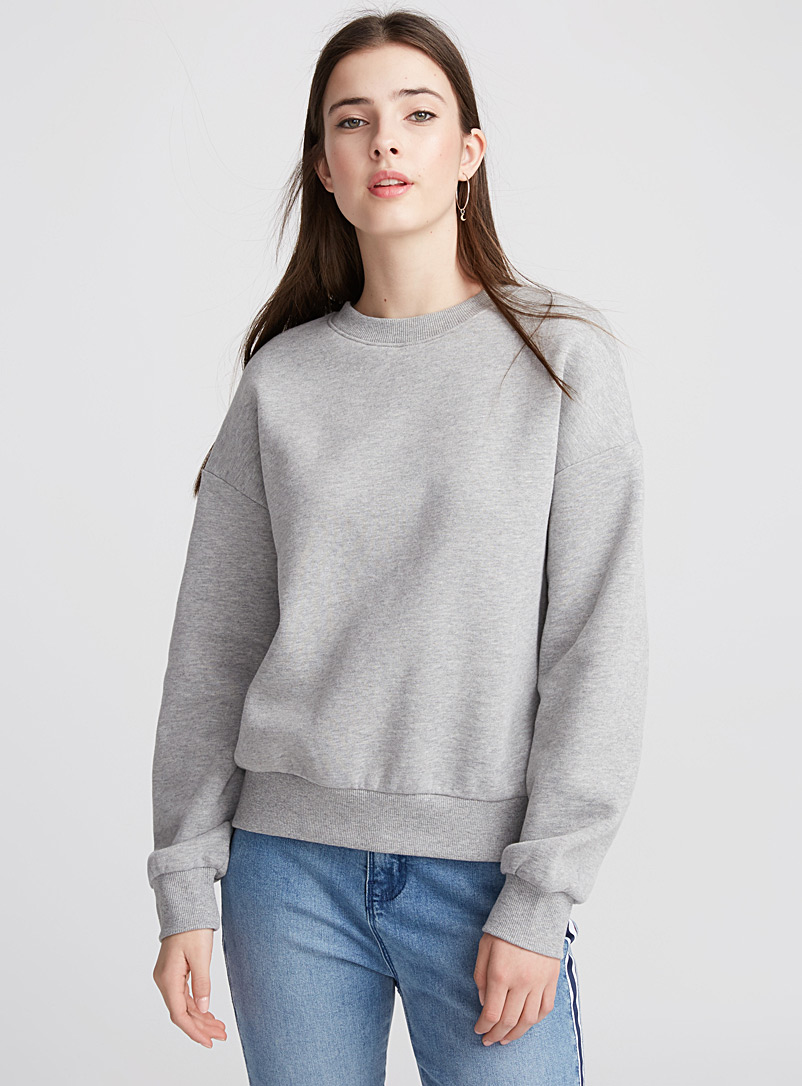 Basic sweatshirt - Sweatshirts & hoodies - Dark Grey