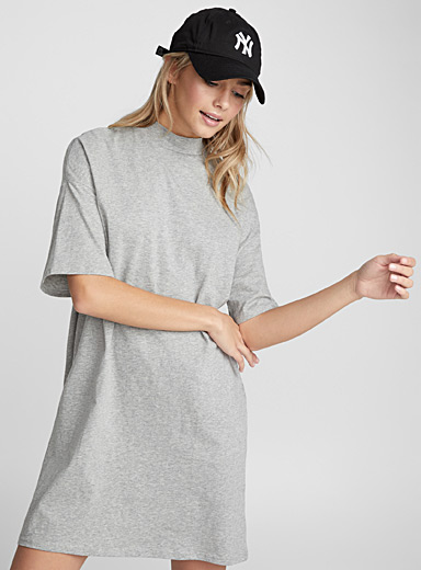 Organic cotton loose T-shirt dress