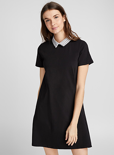 Shirt-collar dress
