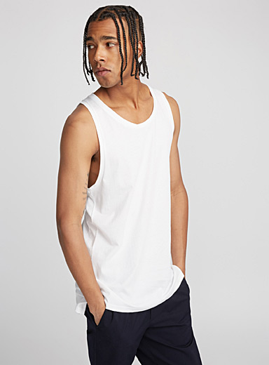 Le tank top allongé