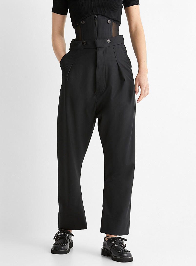 Vivienne Westwood Black Corset pant for women