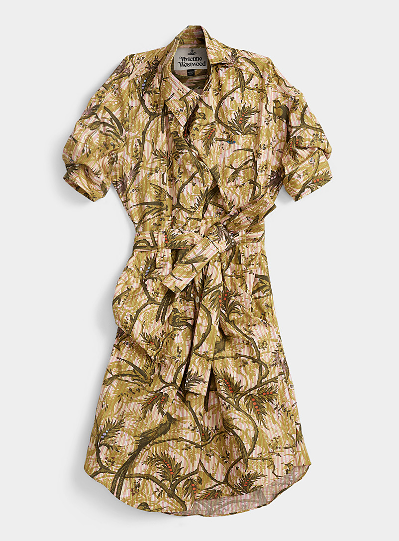 Vivienne Westwood Assorted Jungle striped shirtdress for women