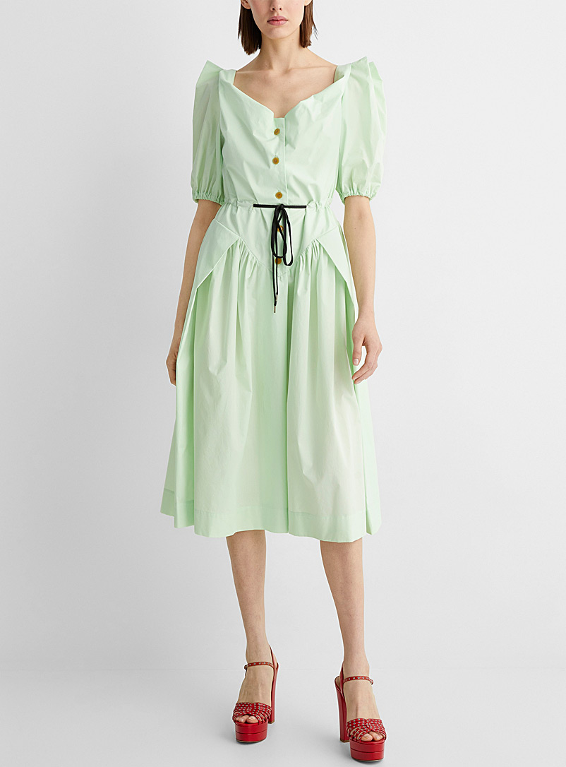 Vivienne Westwood Lime Green Mint green Saturday dress for women