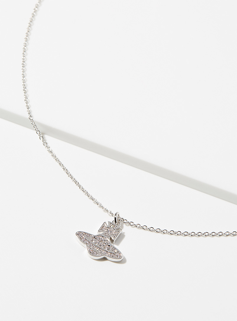 Vivienne Westwood Silver Romina pendant necklace for women