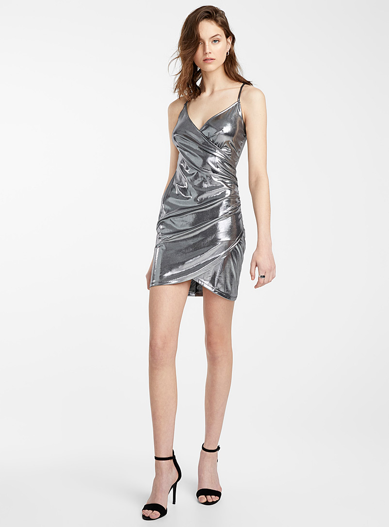 silver-lame-fitted-dress