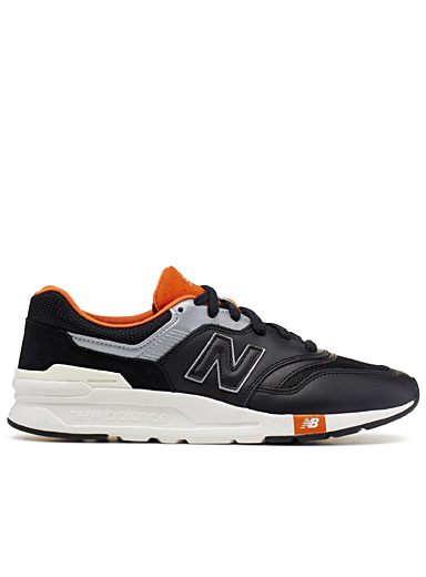 Le sneaker 997H éclats orange