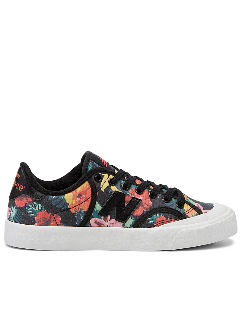 New Balance Patterned Black Pro Court floral sneakers  Women for women