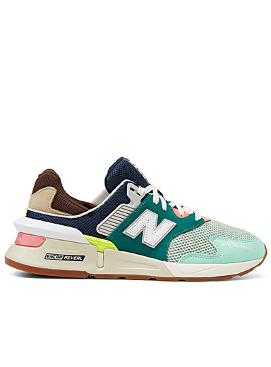 New Balance Assorted 997S colour block sneakers for men