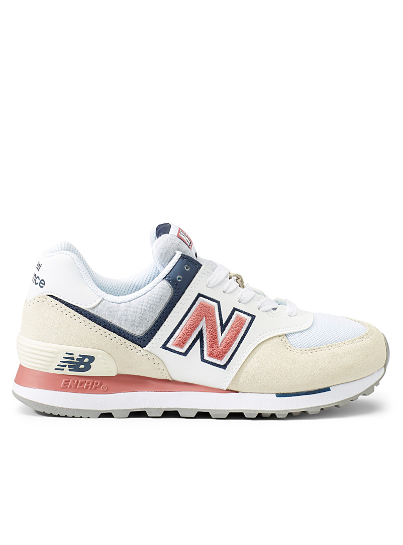 New Balance Patterned White 574 sneakers  Women for women