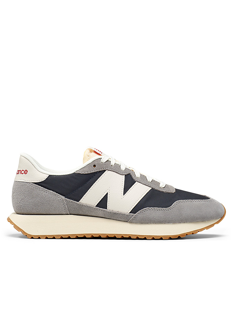 New Balance: Le sneaker 237 Marblehead Homme Gris pour homme