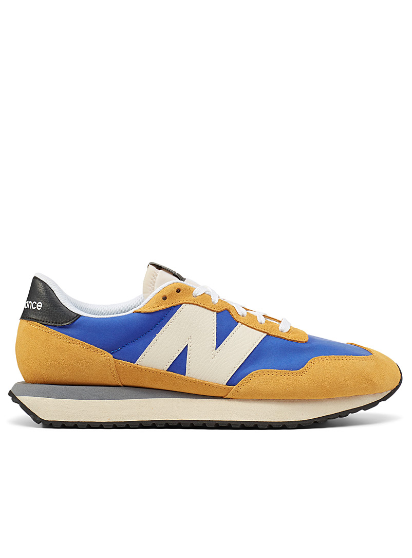 New Balance Golden Yellow Cobalt 237 sneakers Men for men