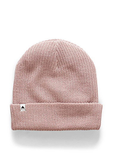 Pink soft knit tuque
