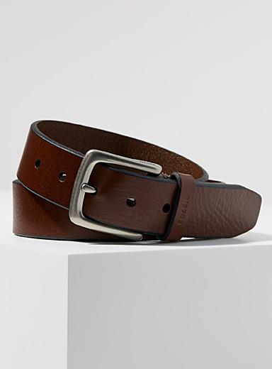 Joe leather belt