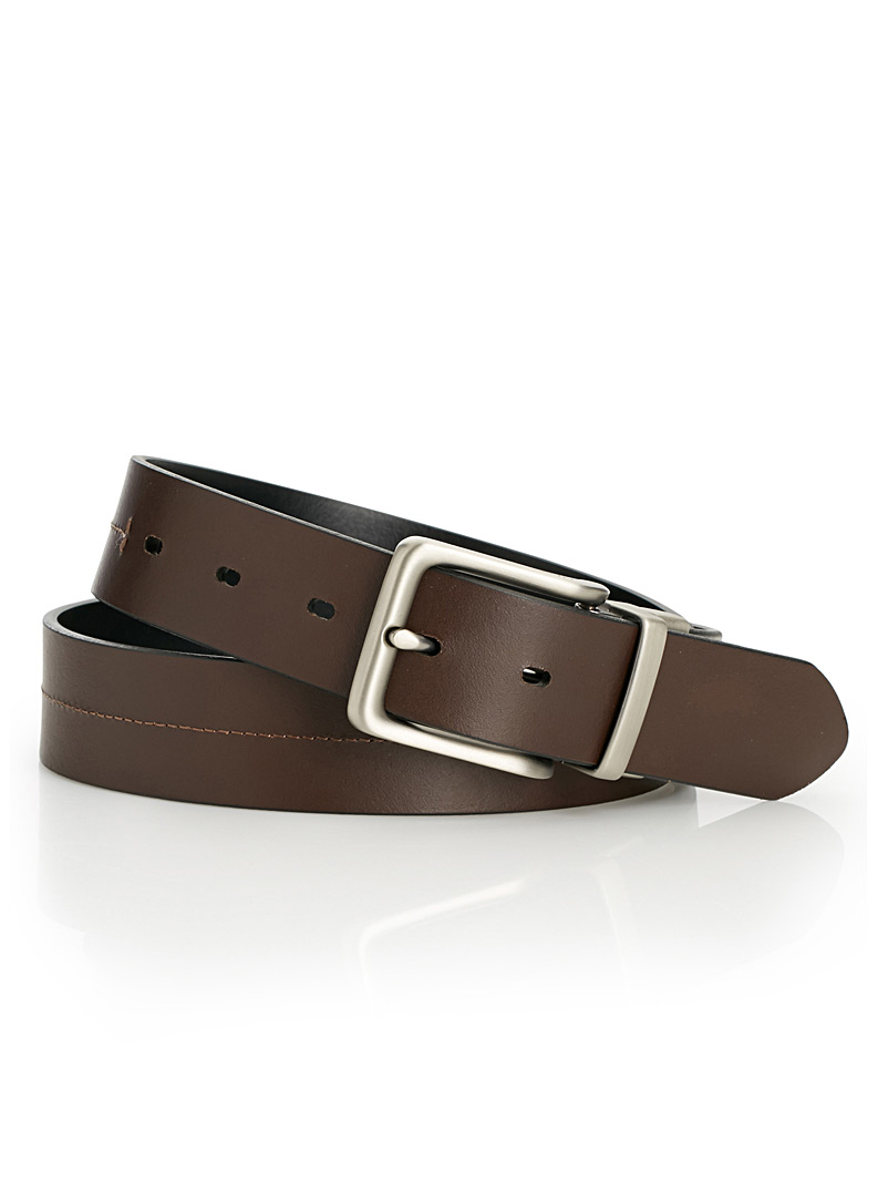 Brandon reversible belt - Casual - Black
