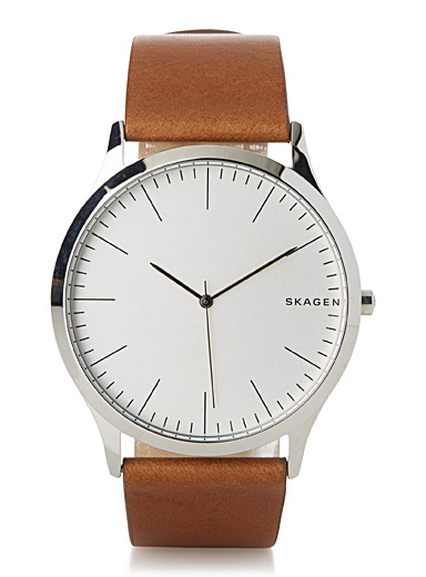 Jorn leather band watch