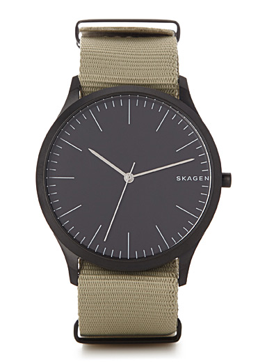 Jorn nylon band watch