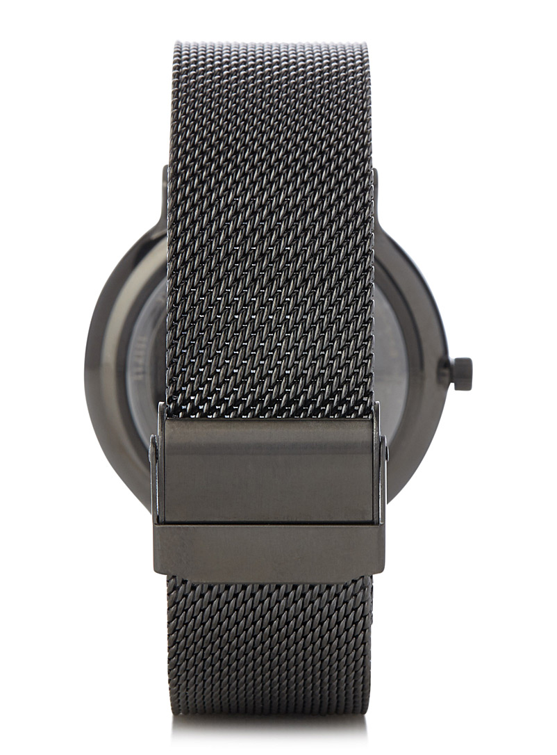 Ancher Titanium watch - Watches - Black