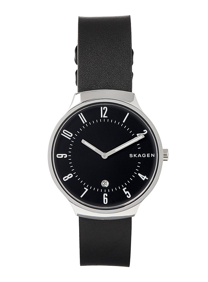 Grenen watch - Watches - Black