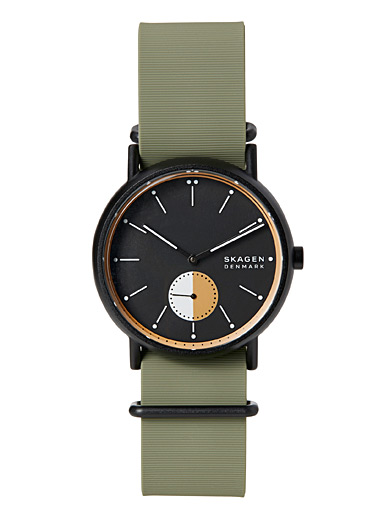 Green silicone Signatur watch