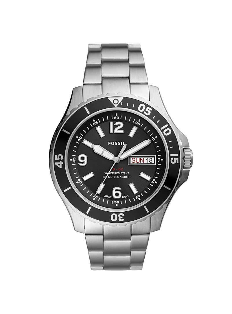 FB-02 stainless steel watch
