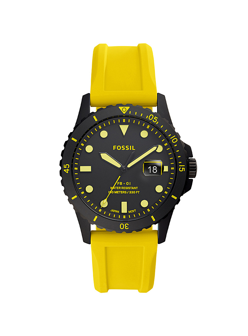 FB-01 yellow watch
